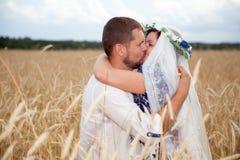 Echtgenoot en vrouw Stock Foto
