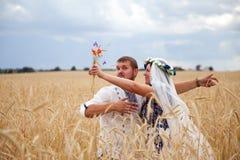 Echtgenoot en vrouw Stock Afbeeldingen