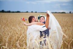 Echtgenoot en vrouw Stock Foto's