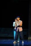 Echtgenoot en vrouwen de opera van Jiangxi een weeghaak Stock Fotografie