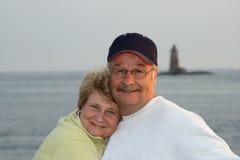 echtpaar portret Royalty-vrije Stock Fotografie