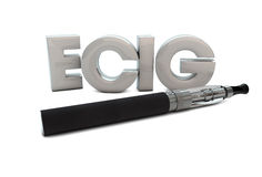 Ecig Royalty Free Stock Image