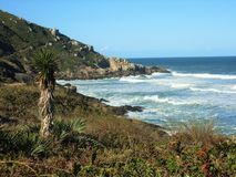 Eck-Vila Beach Lizenzfreies Stockbild