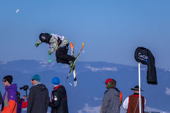 Ecka do 'de Szczepan Karpiel-BuÅ, esquiador polonês Imagens de Stock Royalty Free