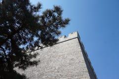 Ecke des alten Observatoriums lizenzfreies stockbild