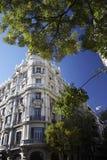 Ecke des Gebäudes Lizenzfreie Stockfotos