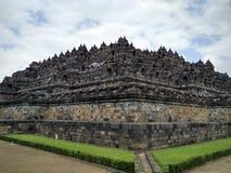 Ecke des Tempels stockbild