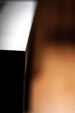 Ecke einer kleinen Tabelle Stockfoto