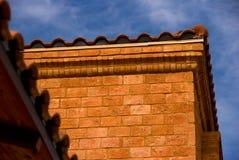 Ecke eines Hauses Stockbilder