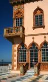 Ecke, Mediterrarean Villa Stockbild