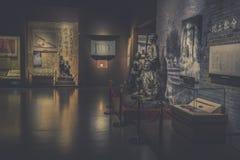 Ecke von Ausstellungshalle-c$jinggangshan Museum stockfotografie
