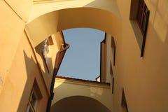 Ecken der Bögen Stockbilder