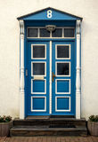 Eckernfoerde in Germany, traditional door Stock Photos