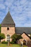 Eckero church Stock Photo