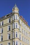 Eckgebäude von der Art Nouveau-Zeit Lizenzfreies Stockfoto
