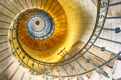 Eckmuhl lighthouse stairway Royalty Free Stock Image
