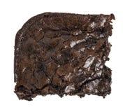 Eckschokoladenkuchen - sondern Sie aus Lizenzfreie Stockfotografie