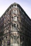 Eckziegelstein-Gebäude stockfotografie