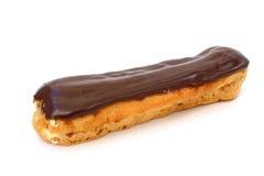 Eclair с fudge шоколада Стоковые Изображения
