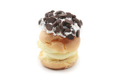Eclair шоколада Стоковое Фото