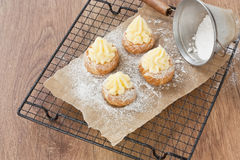 Eclair cake Royalty Free Stock Image