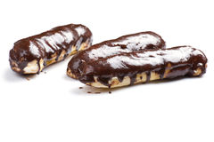 Eclair close up Royalty Free Stock Images