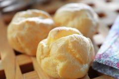 Eclair Cream Custard Stock Image