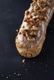 Eclair exquis de dessert à la crème Photo stock