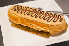 Eclair paris brest Stock Photography