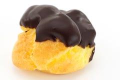 Eclairs с cream шоколадом Стоковое фото RF