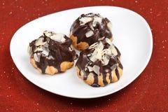 Eclairs шоколада Стоковое Изображение RF