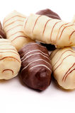Eclairs шоколада Стоковое фото RF