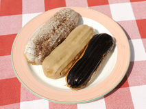 Eclairs Stock Photos