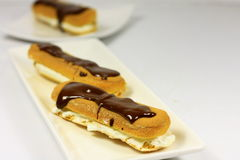 Eclairs Stock Photography