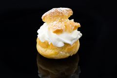 Eclairs with cream Royalty Free Stock Photography