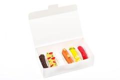 Eclairs de couleur de fruit image stock