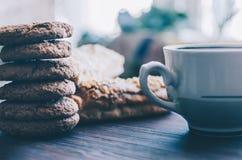 Eclairs e cookies foto de stock royalty free