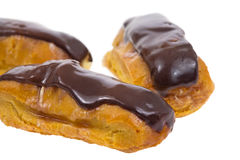 Eclairs up Close Royalty Free Stock Photos