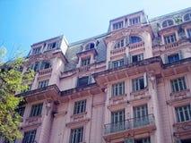 Eclectic building Stock Photos
