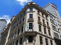 Eclectic building in São Paulo Stock Photos