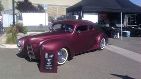 Eclectic at the Rat Rod Auto show in Sparks NV. 2014 Stock Image