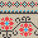 Eclectic Romanian pattern Royalty Free Stock Image