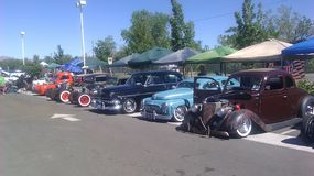 Eclectic VW at the Rat Rod Auto show in Sparks NV. 2014 Stock Photo
