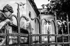 Eclectic zoneen la ciudad de Mexico. Old buildings in Mexico city stock images