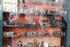 Eclectica shop in Rome, Italy Stock Images