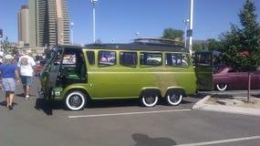 Eclectisch VW bij de Rat Rod Auto toont in Vonken NV Royalty-vrije Stock Foto's