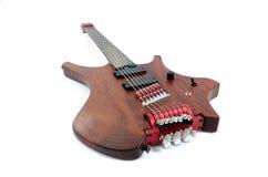 Eclectische gitaar Stock Foto's