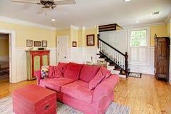 Eclectische woonkamer Royalty-vrije Stock Afbeelding