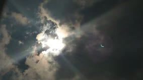 Eclipse 2017 fotos de archivo