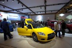 Eclipse 2011 de Mitsubishi GT-P em Autoshow 2010 Foto de Stock